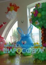 Фотозона для детского праздника