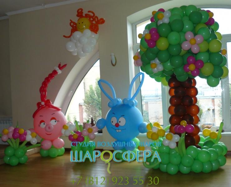 Дерево для детских праздников