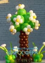 цветущее дерево из шаров