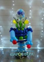 Робот инопланетянин из шаров
