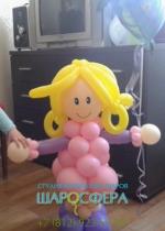 кукла Элли из шаров