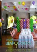 Hello Kitty оформление детского праздника шарами