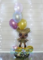 кукла LOL воздушный шар