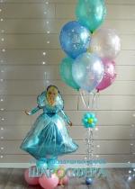 шар из фольги Ледяная принцесса