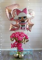 кукла Лол воздушный шар