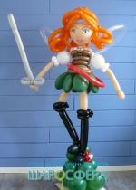Зарина принцесса пиратов из шаров
