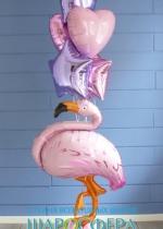 """Комплект шаров """"Розовый фламинго"""""""