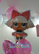 Кукла LOL шар из фольги
