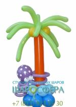 пальма из шаров для детского праздника