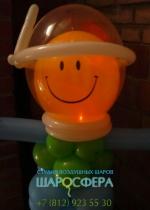 игрушка космонавт из шаров