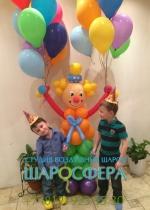 клоун из шаров большой