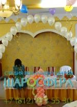 оформление шарами дня рождения ребёнка