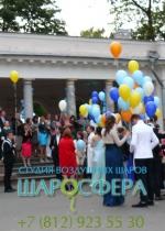 выпускной запуск шаров