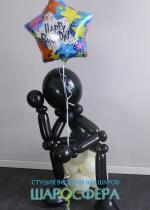 скульптура из шаров декоративная