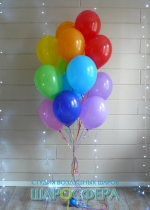 связка из 15 шаров 30 см