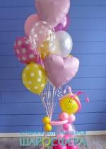 игрушка для девочки со связкой шаров