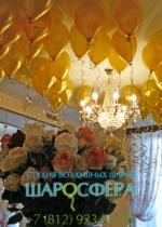шары металлик для свадебного оформления