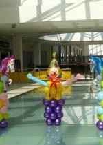 фигуры из шаров тема цирк